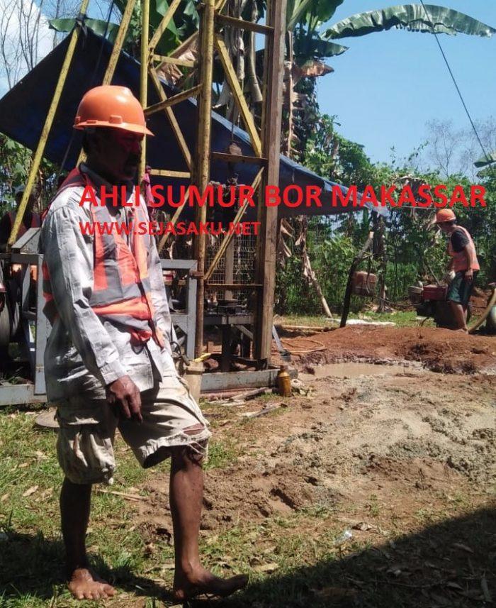 Pengeboran sumur di Makassar