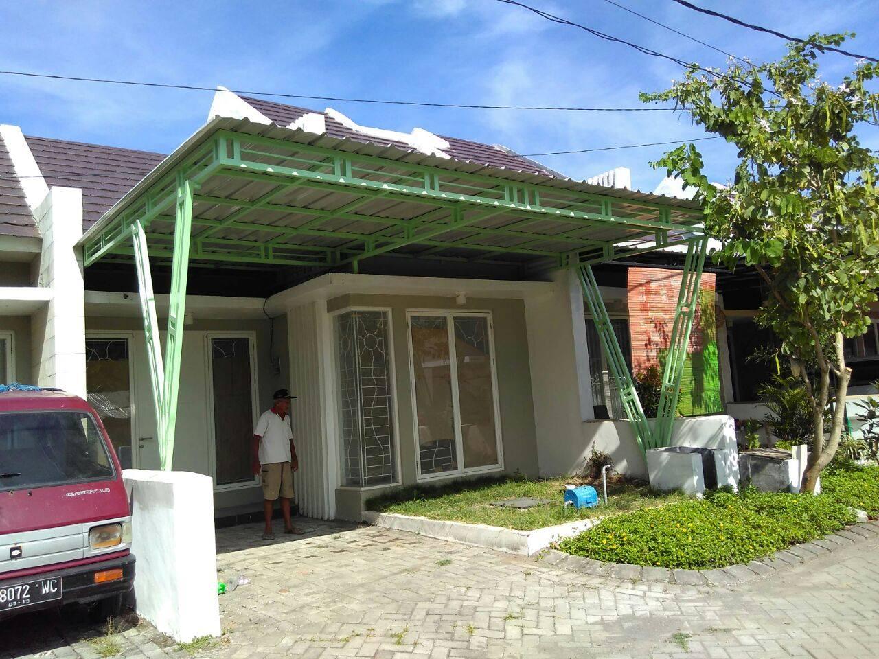 Jasa  Pembuatan   Canopy  Baja Ringan  Wanggudu
