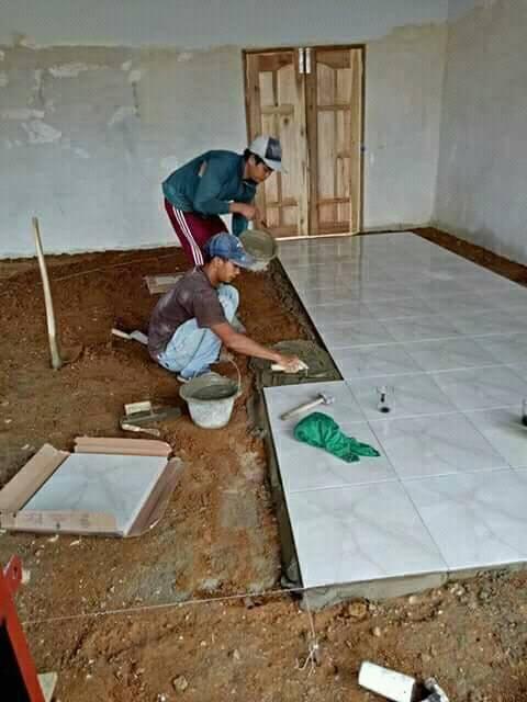Spesialis  Pemasangan Keramik & Batu Alam di Kotabaru