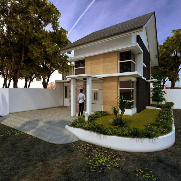 Desain Arsitek Rumah  Buton Utara