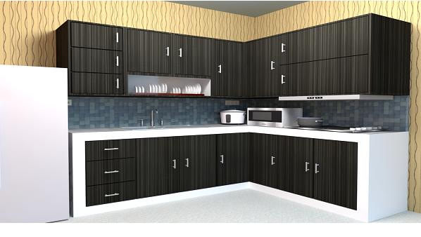 Pembuat Kitchen Set Aluminium di Buol