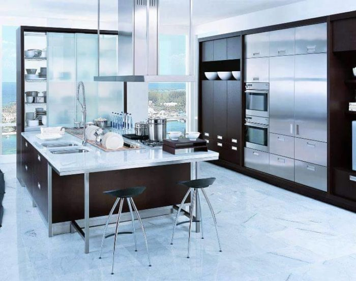 Jasa Pembuat Kitchen Set Aluminium   Balangan