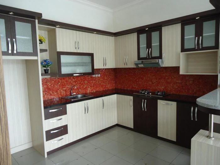 Tukang Pembuatan Kitchen Set Modern   Teluk Wondama