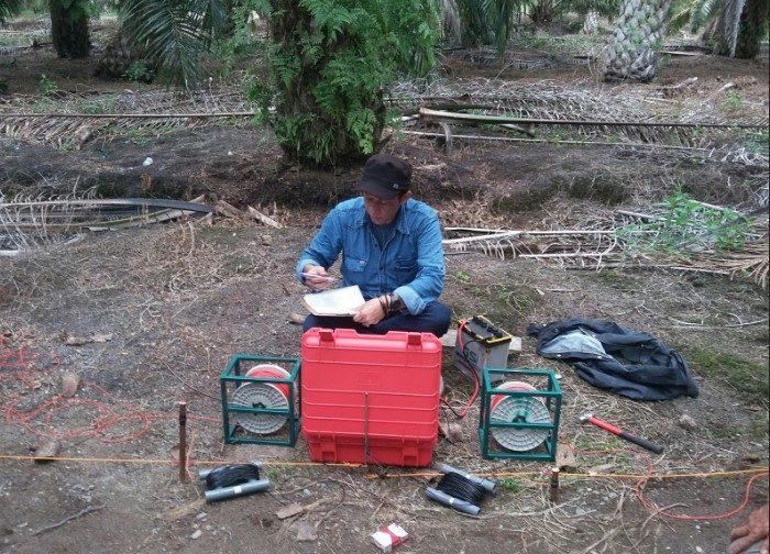 Ahli Geolistrik Air Tanah Tana Paser