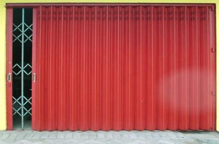 service pintu harmonika Makassar